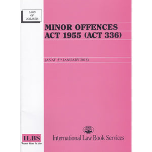 MINOR OFFENCES ACT 1955 (ACT 336)