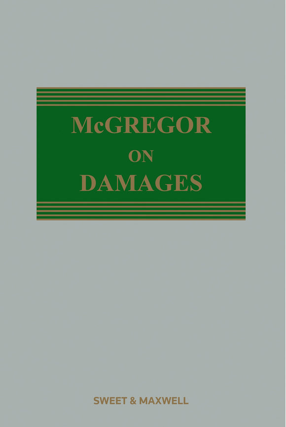 McGregor on Damages Twentieth Edition