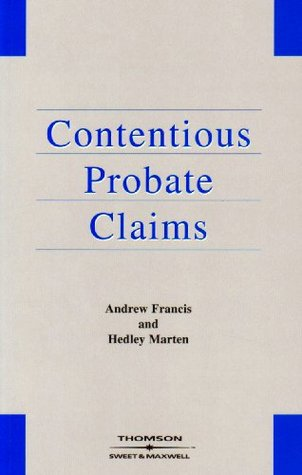 Contentious Probate Claims