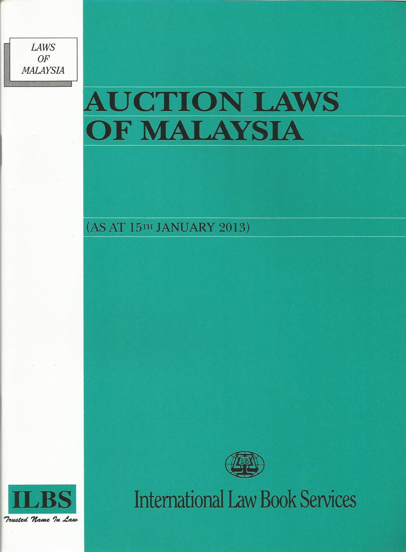 Auction Laws Of Malaysia