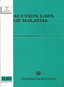 Auction Laws Of Mal