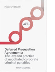 Deferred Prosecution Agreements