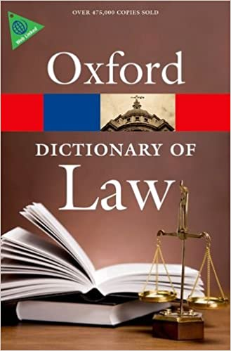 Oxford: Dictionary of Law