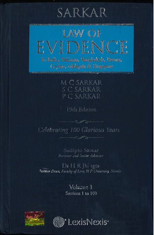 Law Of Evidence (Set of 2 Vols)