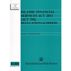 ISLAMIC FINANCIAL SERVICES ACT 2013 (ACT 759)
