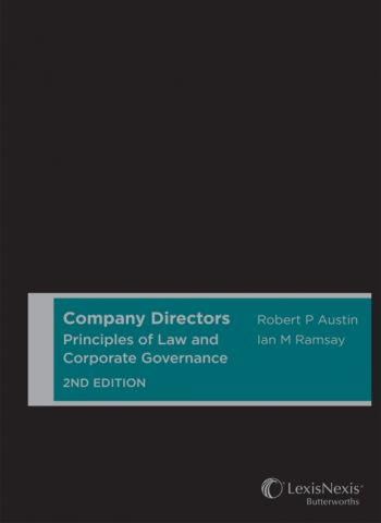 Company Directors: Principles of Law & Corporate Governance 2nd ed (Pre-Order)