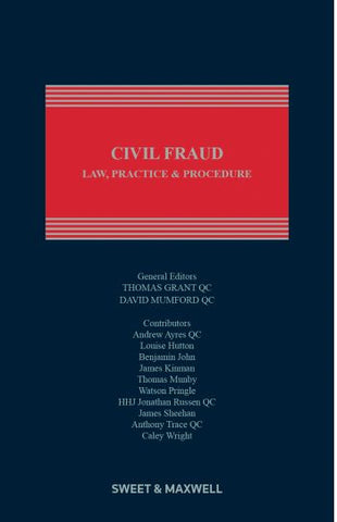 Civil Fraud: Law, Practice and Procedure