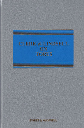 CLERK & LINDSELL ON TORTS 22ND EDITION