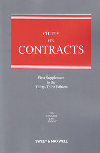 Chitty on Contracts 33rd ed: 1st Supplement (Pre-Order)