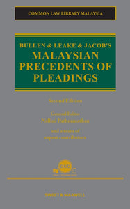 Bullen & Leake & Jacob's Malaysian Precedents of Pleadings, 2nd Edition