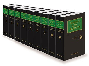 BORNEO LAW REPORTS VOLUMES 1 - 10 [FULL SET]