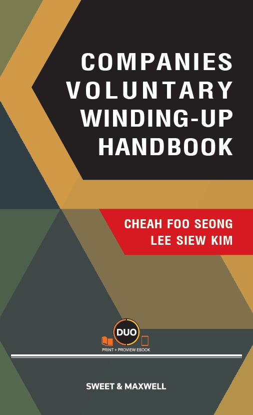 COMPANIES VOLUNTARY WINDING-UP HANDBOOK