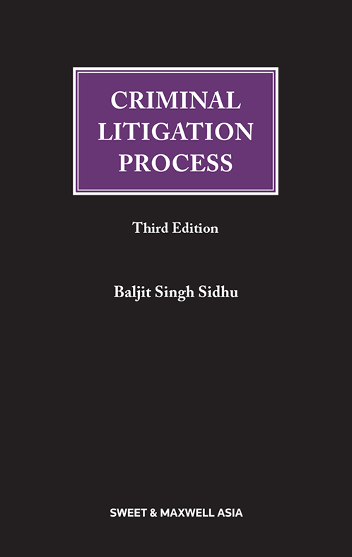 Criminal Litigation Process, 3rd Edition