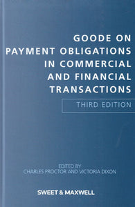 Goode on Payment Obligations in Commercial and Financial Transactions, 3rd edition