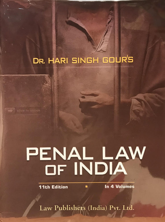 Penal Law of India, 11th Edition (4 Volume)