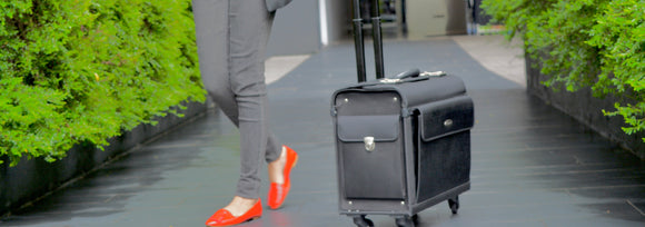 Nylon Four-Wheeled Trolley Bag [Pre Order]