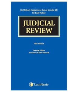 Judicial Review 5th Edition