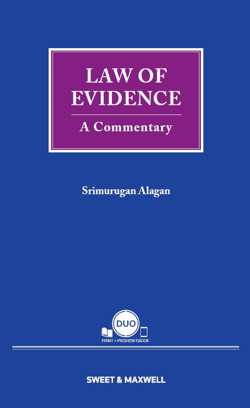 LAW OF EVIDENCE: A COMMENTARY