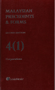 Malaysian Precedents & Forms Second Edition 4(1) Corporation