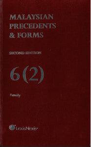 Precedents & Forms Second Edition 6(1) Family