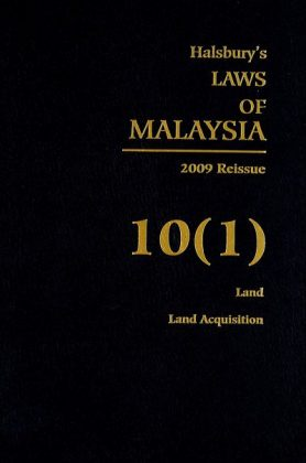 Halsbury's Laws Of Malaysia, 2009 Reissue – Vol. 10 (1)