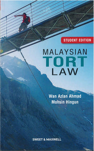 Malaysian Tort Law Student Edition