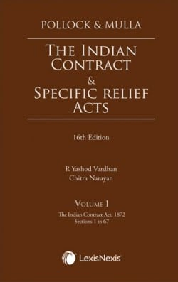 The Indian Contract & Specific Relief Acts, 16th Edition (Set of 2 Volumes)