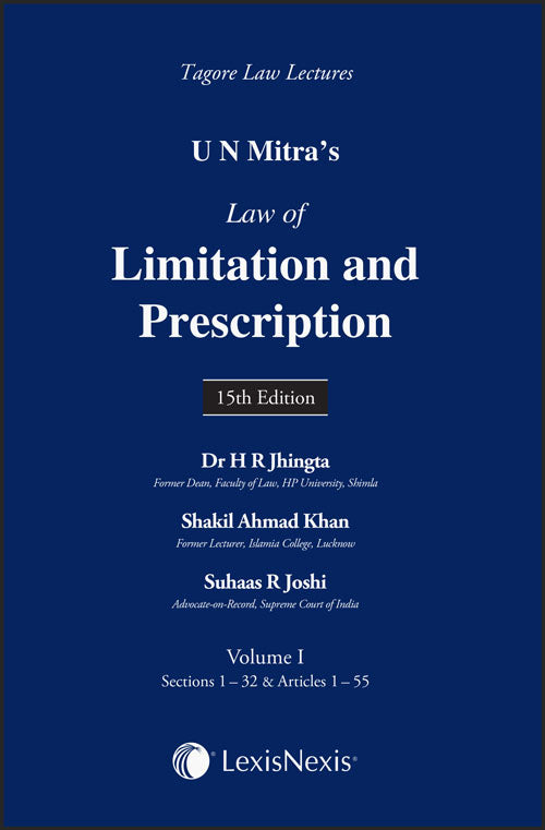 U N Mitra's Law of Limitation and Prescription (Set of 2 Volumes)