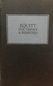 EQUITY DOCTRINE & REMEDIES
