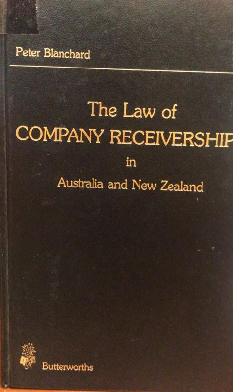 The Law of Company Receivership in Australia and New Zealand