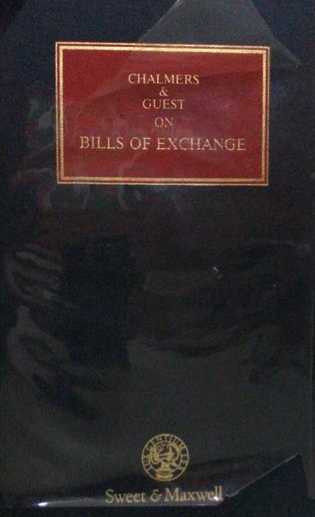 CHALMERS & GUEST ON BILL OF EXCHANGE 14ED