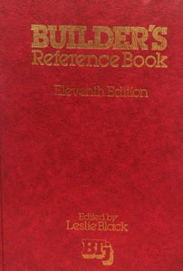 BUILDERS REFERENCE BOOK (11ED) 1980