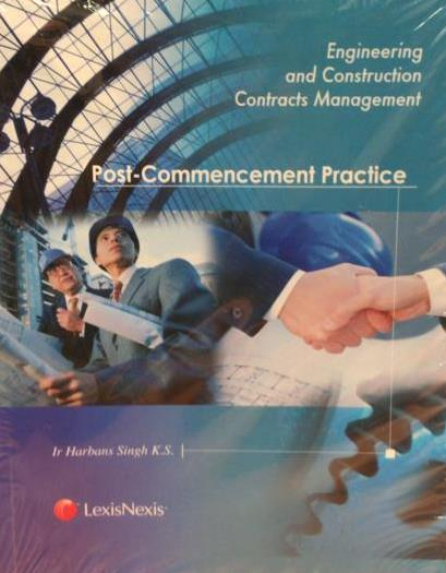 Engineering and Construction Contracts Management Post -Commencement Practice