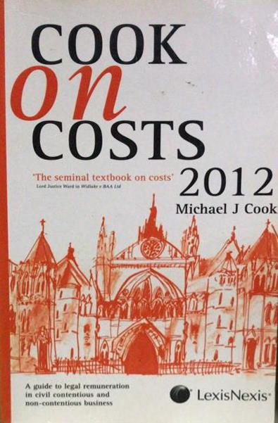 Cook on Costs 2012