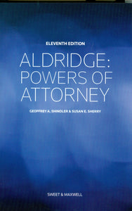 Aldridge Powers of Attorney 11th Edition