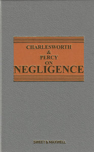Charlesworth & Percy on Negligence 13th ed
