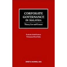 Corporate Governance in Malaysia: Theory, Law, and Context