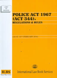 POLICE ACT 1967 (ACT 344)