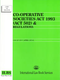 Co-Operative Societies Act 1993 (Act 502) & Regulations