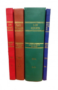 Law Report Rainbow Series (1865 - 2016)