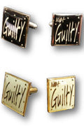 Guilty/ Not Guilty Cufflinks