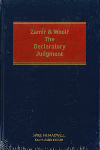 Zamir & Woolf, The Declaratory Judge The Declaratory Judgment – 4th Edition (South Asian Edition)