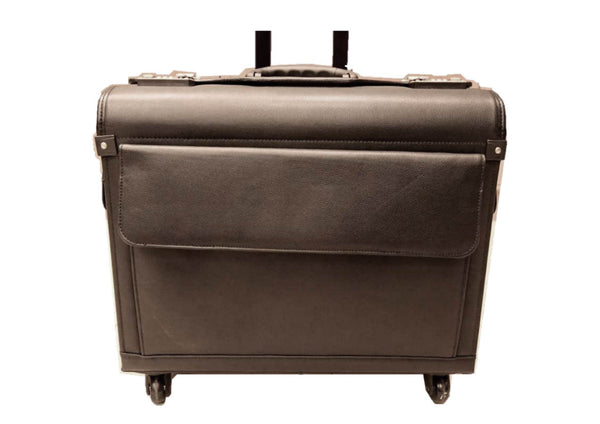 Pure Leather 4 Wheeled Trolley Bag LATEST ARRIVAL