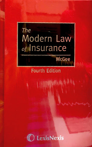 McGee: The Modern Law of Insurance, 4th edition