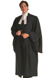 Barrister Robe (Wool & Polyester)