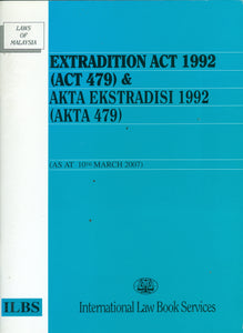 EXTRADITION ACT 1992 (ACT 479)