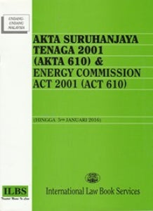 ENERGY COMMISSION ACT 2001 (ACT 610)