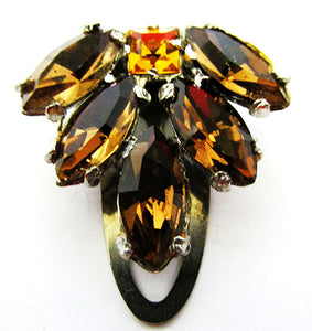 A.E. Waller Vintage 1930s Distinctive Art Deco Dress Clip