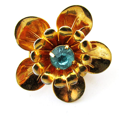 Barclay Vintage 1950s Dainty Mid-Century High Caliber Floral Pin
