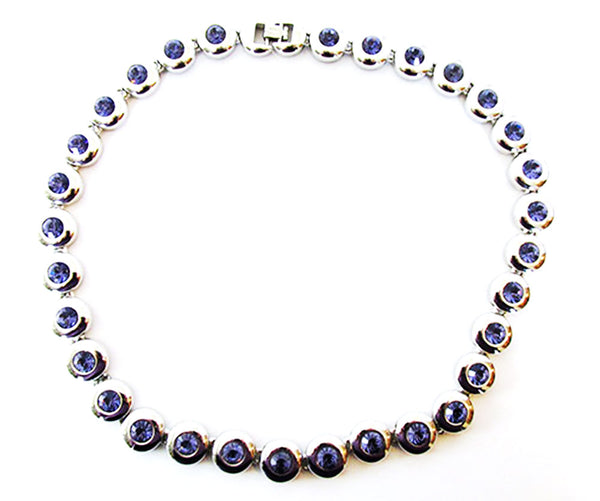 Striking Nolan Miller Vintage Retro Contemporary Style Link Necklace